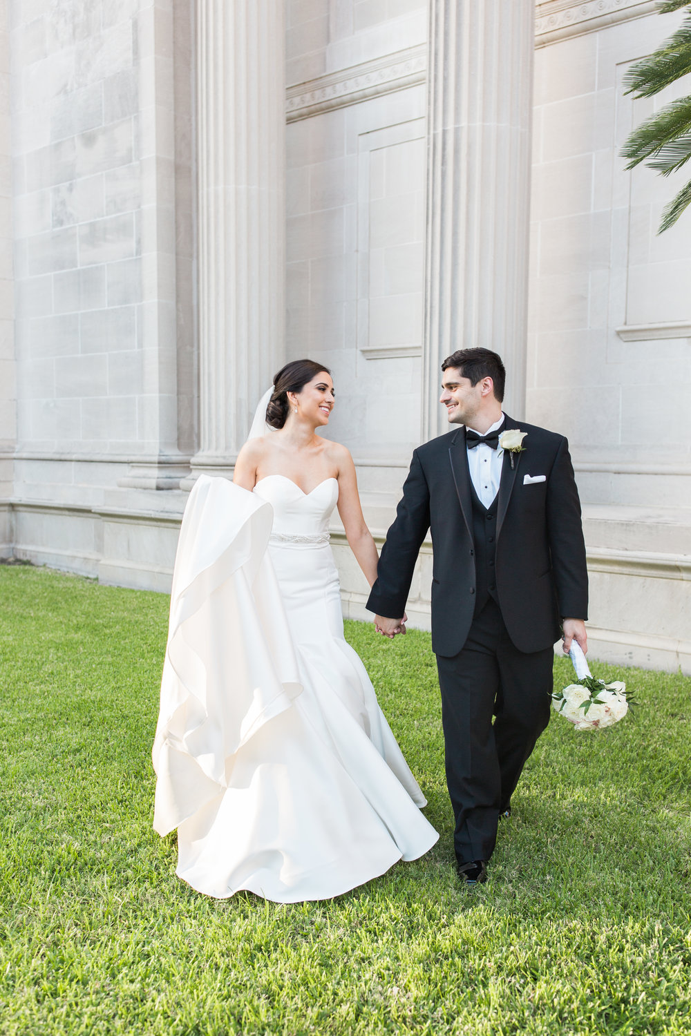 Museum District Bride and groom portraits