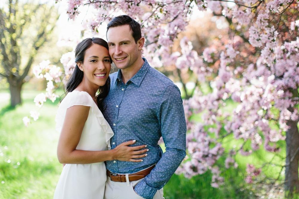 Ottawa Engagement Session Apple Blossoms 5.jpg