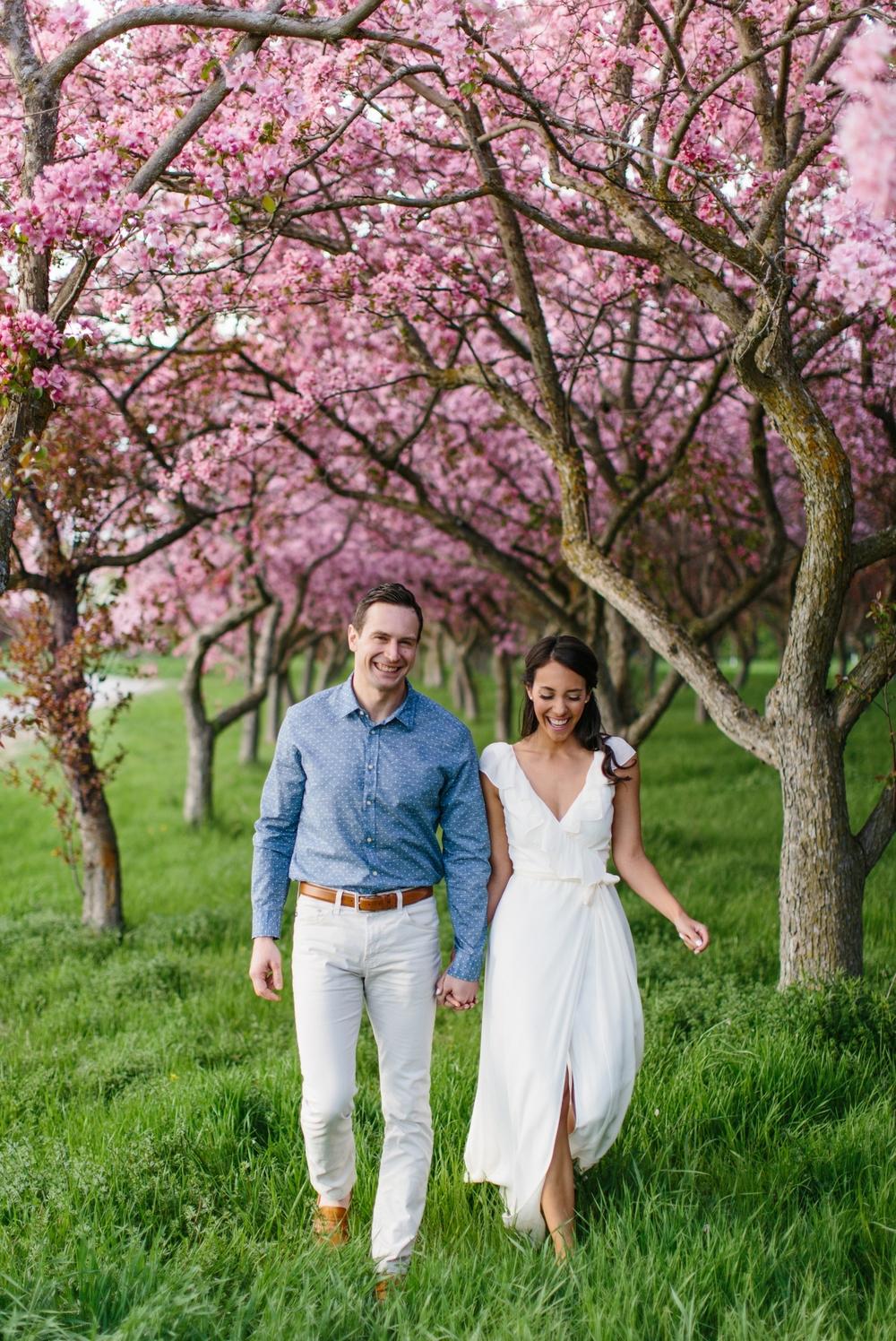 Ottawa Engagement Session Apple Blossoms 6.jpg