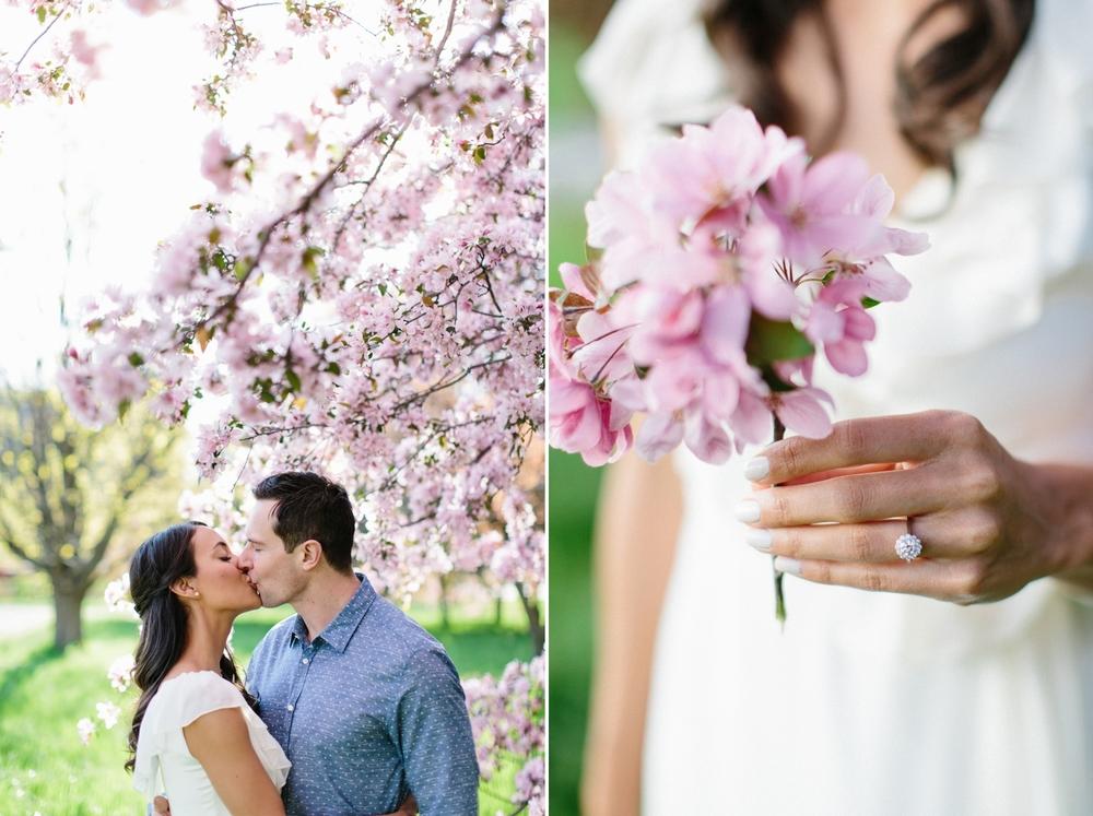 Ottawa Engagement Session Apple Blossoms 14.jpg