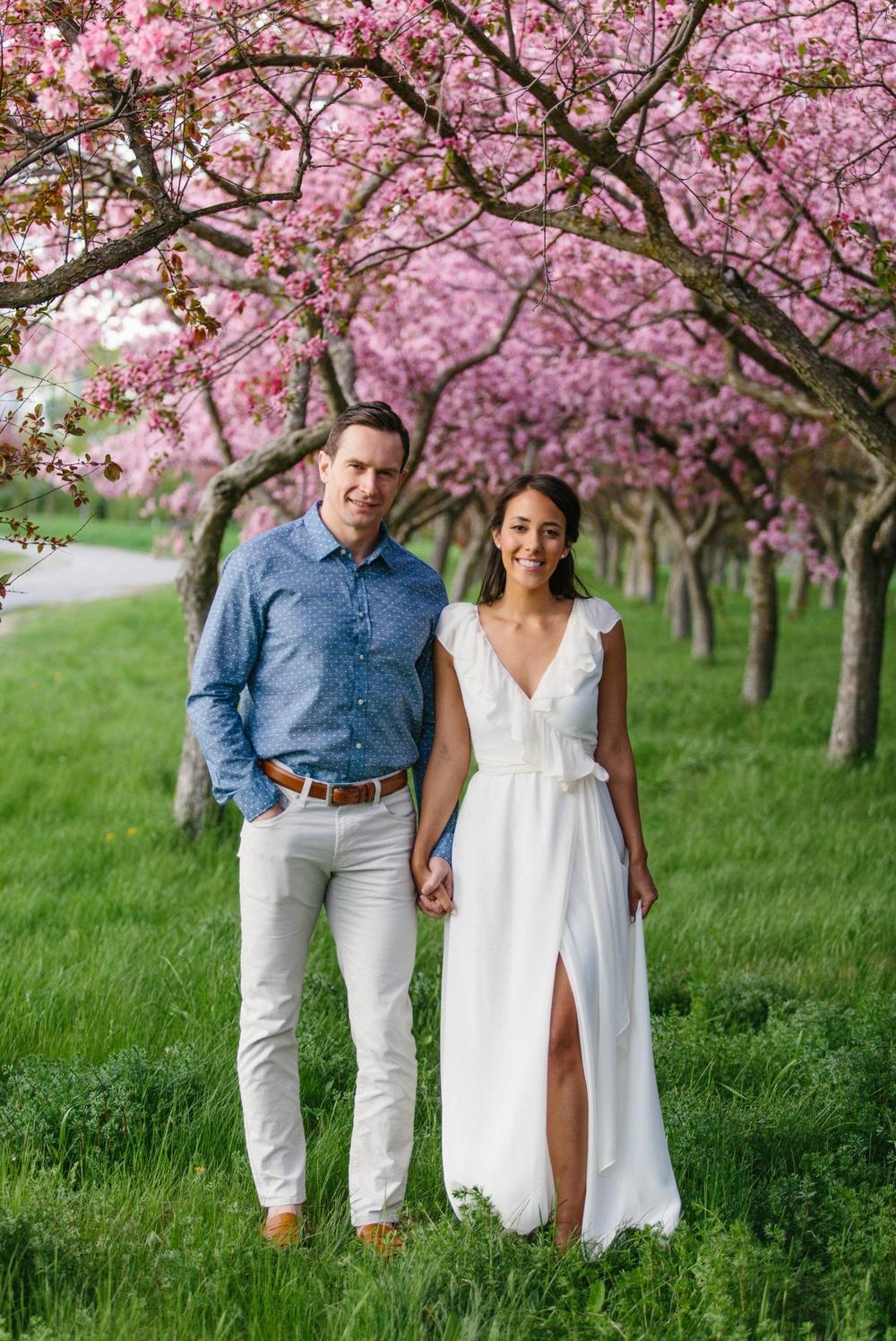 Ottawa Engagement Session Apple Blossoms 17.jpg