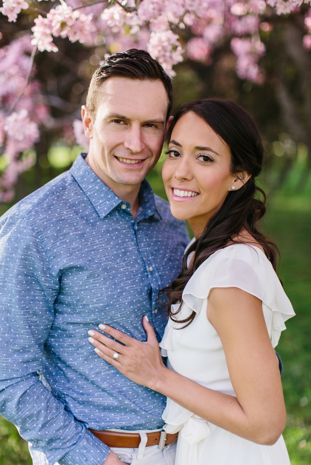 Ottawa Engagement Session Apple Blossoms 22.jpg