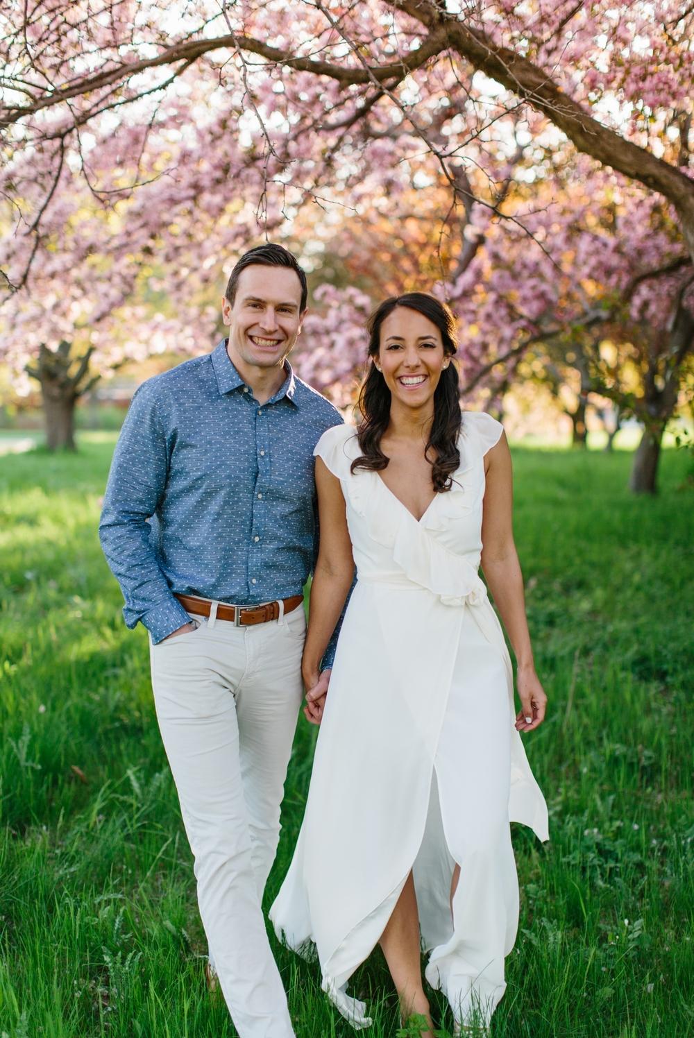 Ottawa Engagement Session Apple Blossoms 28.jpg