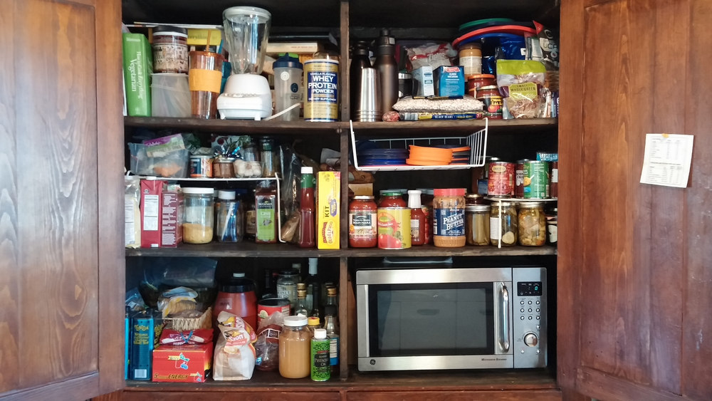 Pantry after cleaning