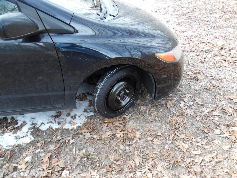 Car tire fail :(