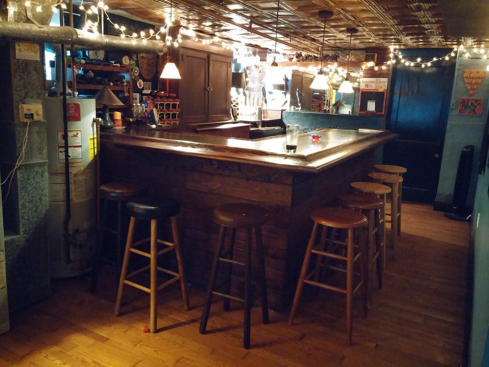 Decluttering The Basement: The Bar