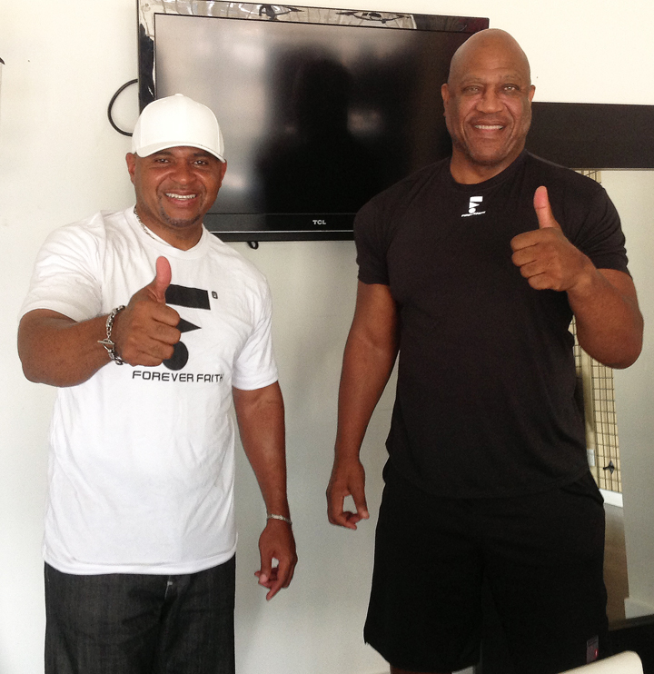 Ron Brown & Tiny Lister