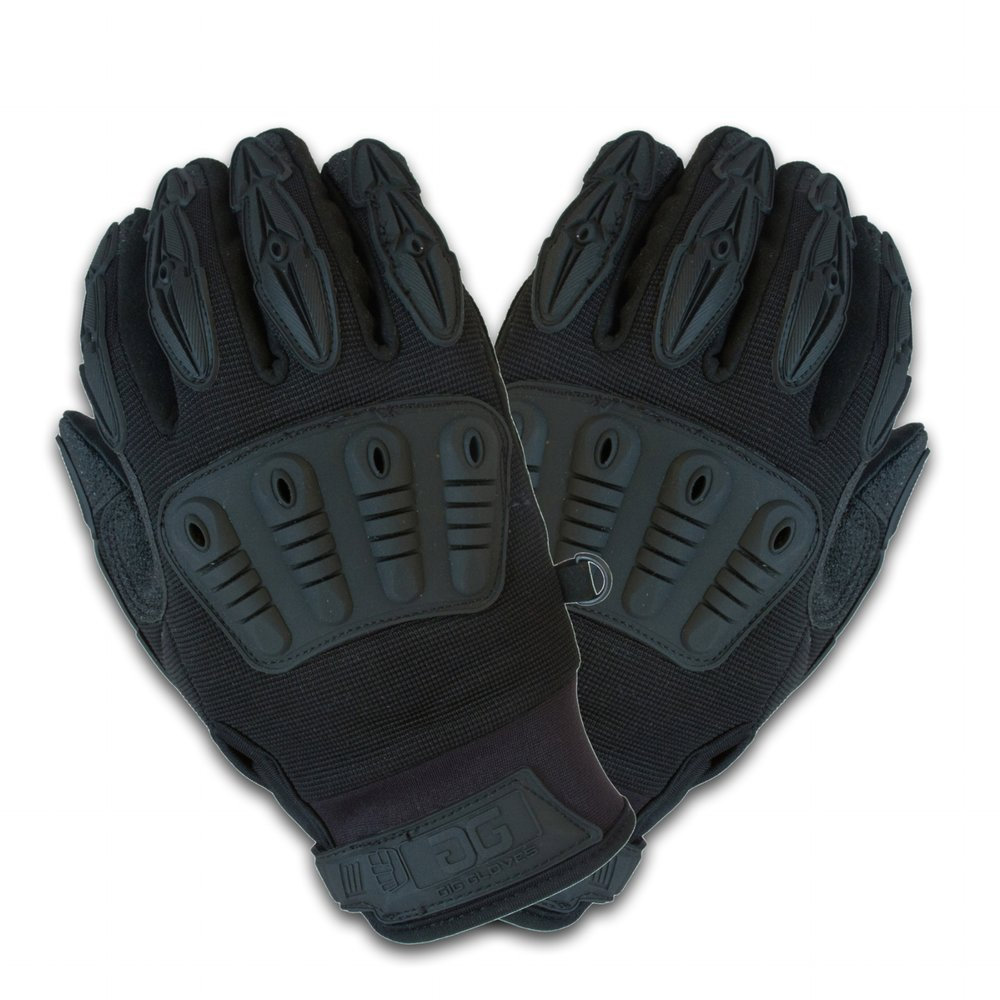"Gig Gloves ONYX    All of the same great features that are found in the Original Gig Gloves but with an  all black  surface to make sure you remain completely discreet and invisible during the show. No more ""sharpie-ing"" out logos and tags.  SEE MORE     IN STOCK - ORDER NOW!"