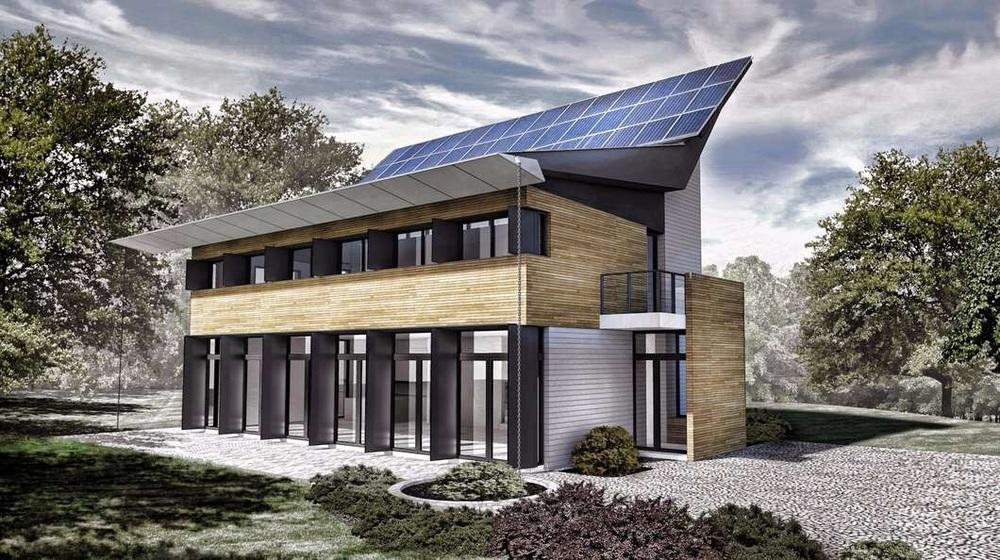 The Solar Barn Loft by Paul Luzec