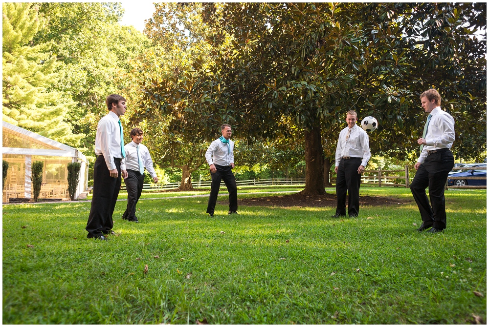 Soccer Wedding, Richmond VA Wedding Photographer