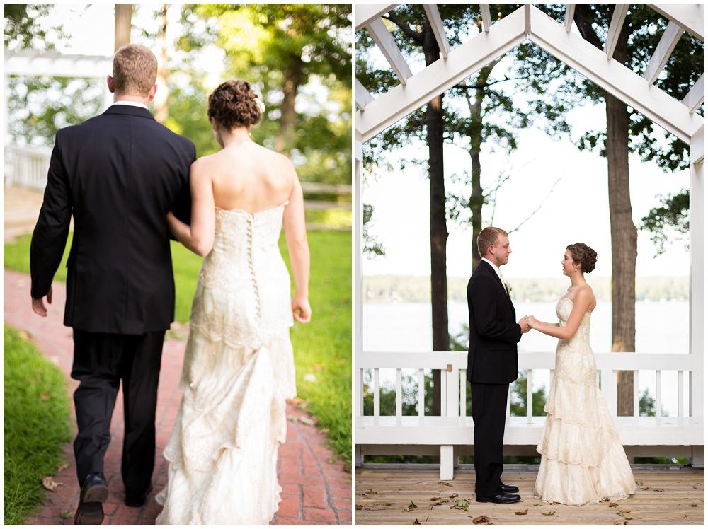 First look, Richmond VA Wedding Photographer