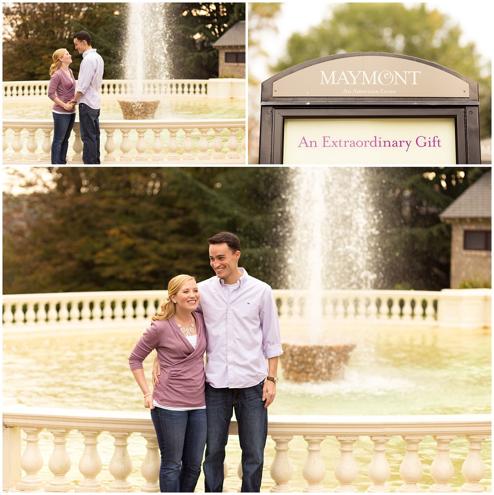 engagement photos maymont park