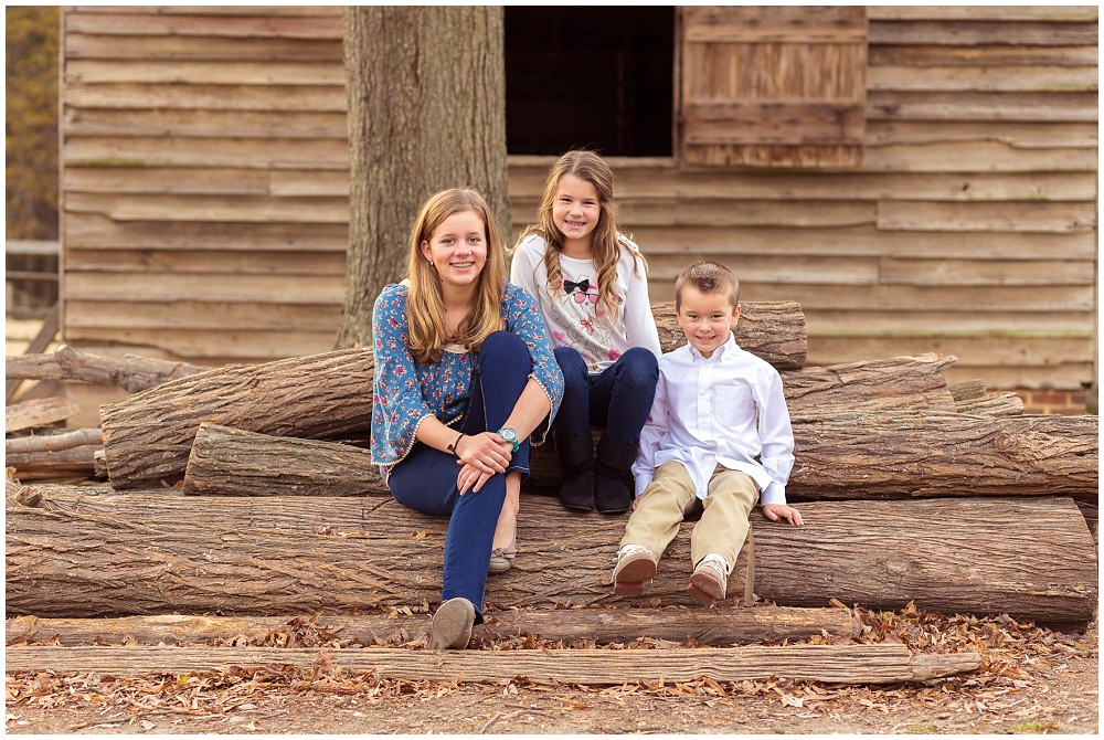 rustic family portraits