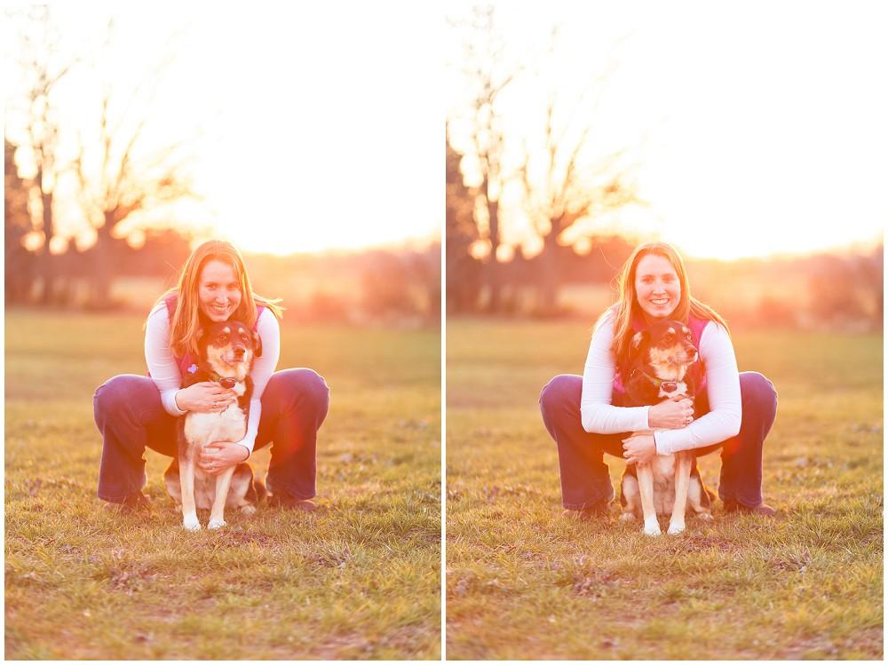 sunset portraits