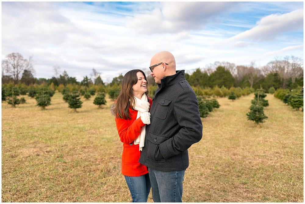 christmas tree farm portraits