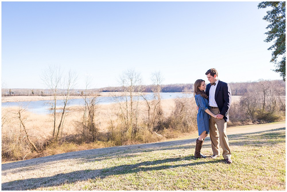 mount calvert engagement session