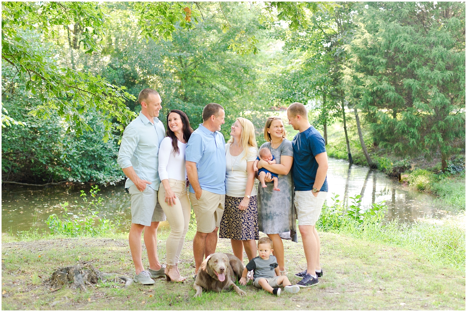 Chesterfield Outdoor Family Photography — Richmond Wedding