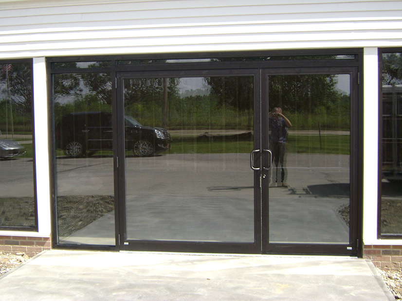 Auto Showroom Door