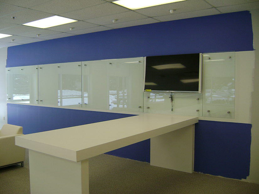 Custom Glass 'White Boards'