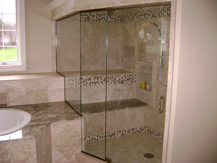 Custom Neo Angle Euro Steam Shower