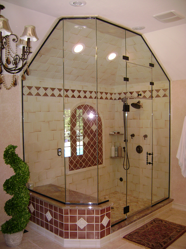 Huge Euro Shower