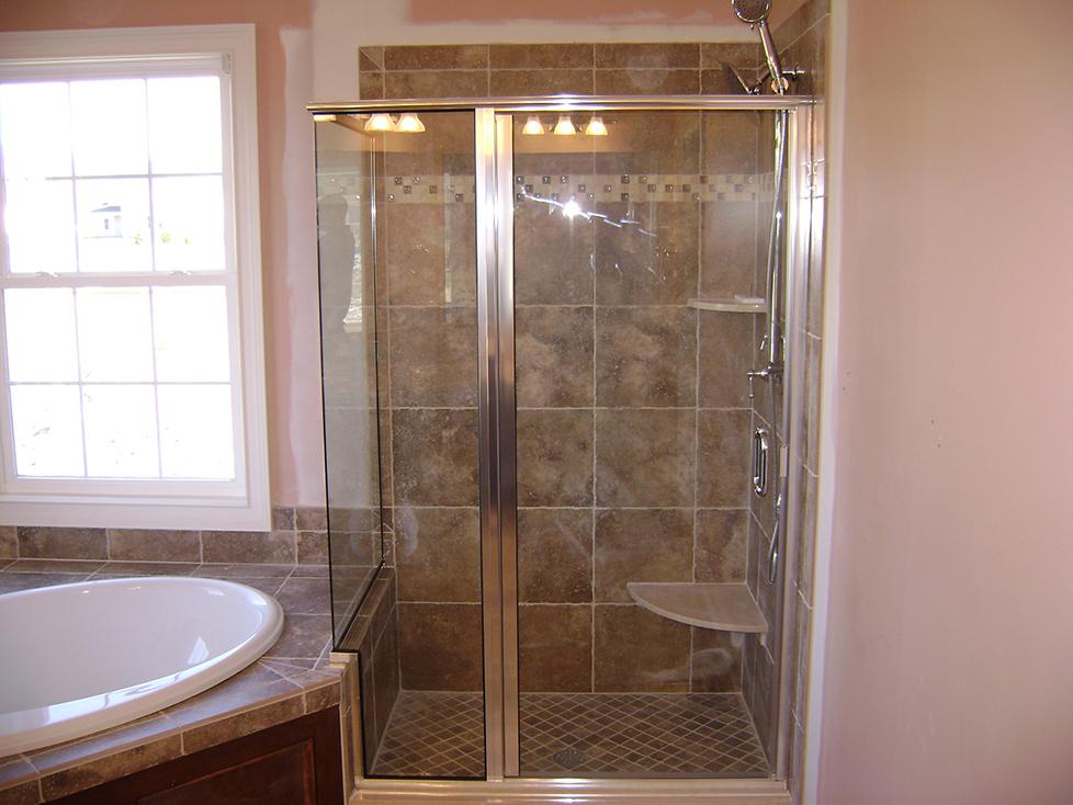 Infinity Corner Shower