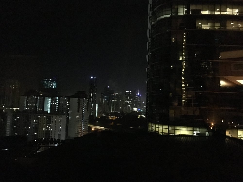 Out my window in Kuala Lumpur