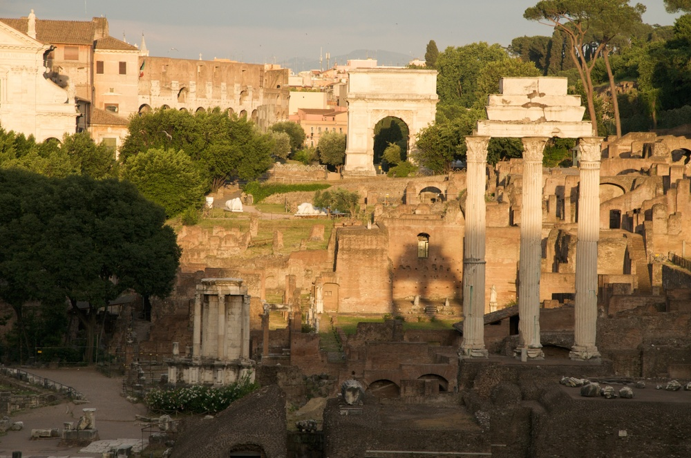 The Roman Forum (Foro Romano)