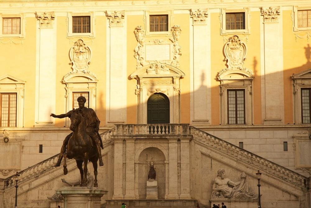 The Campidoglio & Hadrian