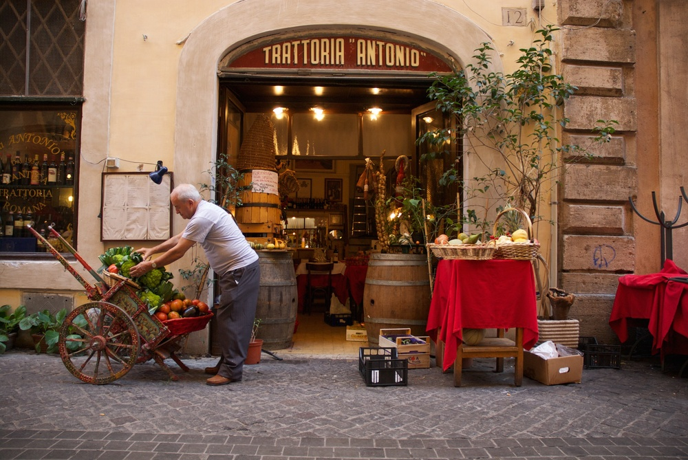 Typical Roman Trattoria