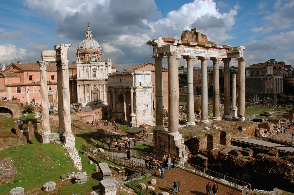 Roman Forum and Temple of Saturn