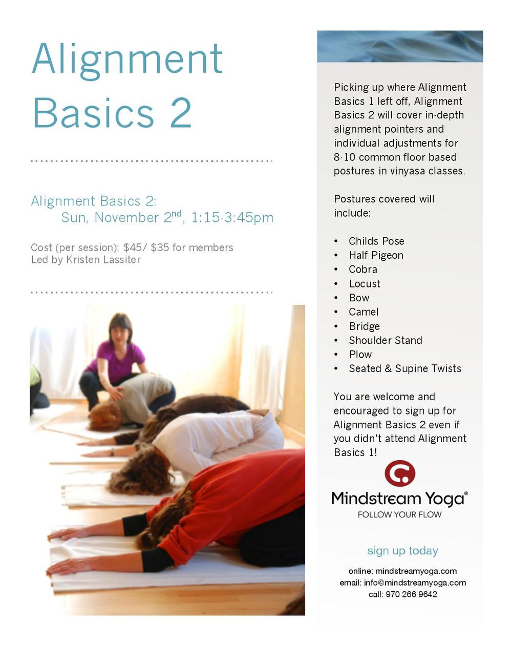 yoga alignment basics 2