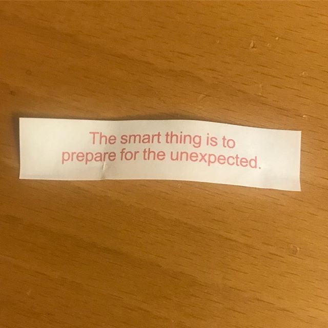 The Chinese fortune cookie of event production truth 🙏🏼