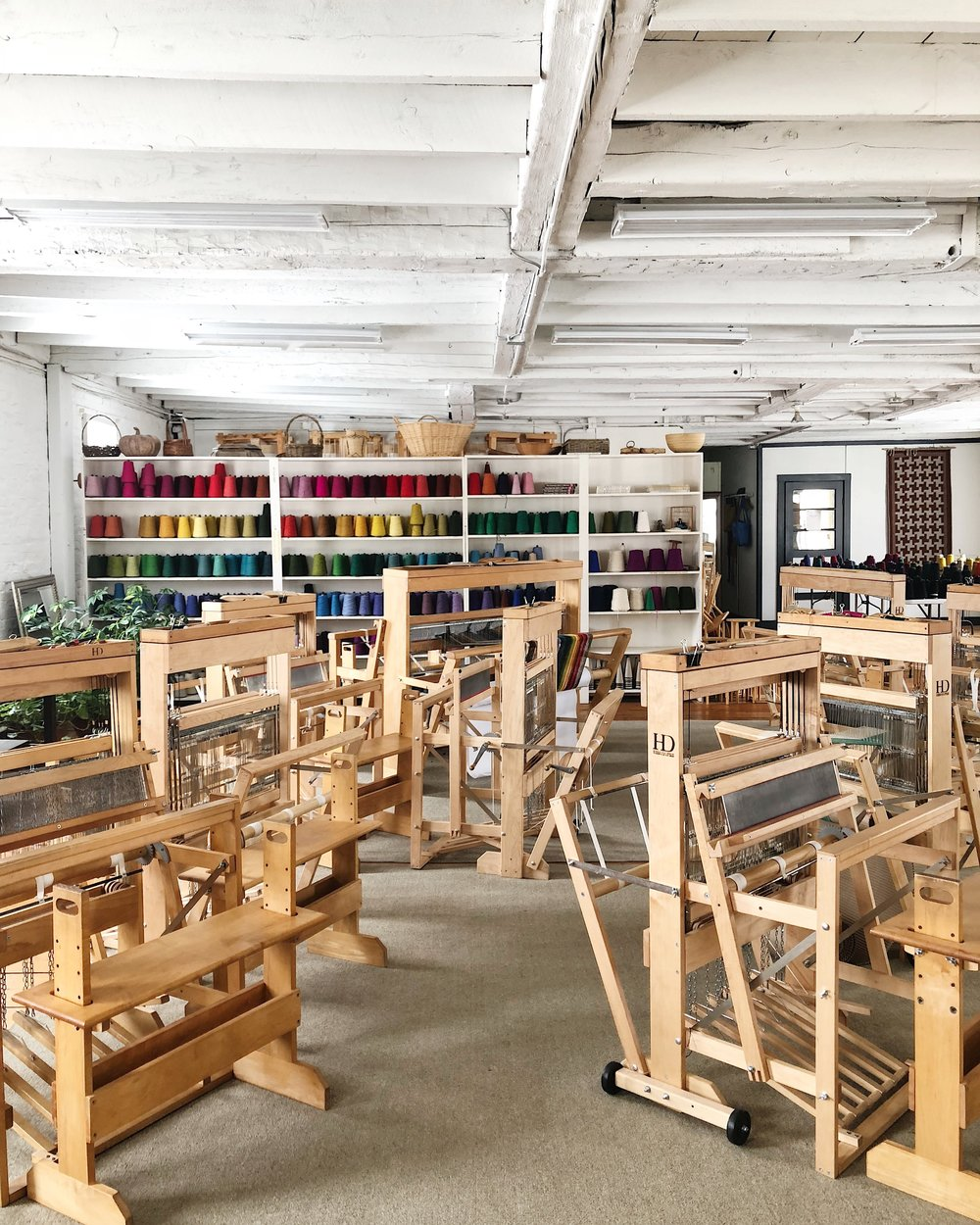 Harrisville Designs Weaving Center