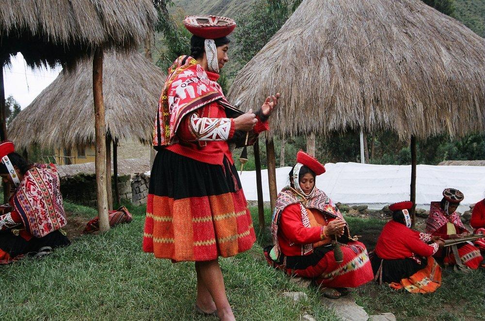Weaving Cooperative, Patacancha, Peru.
