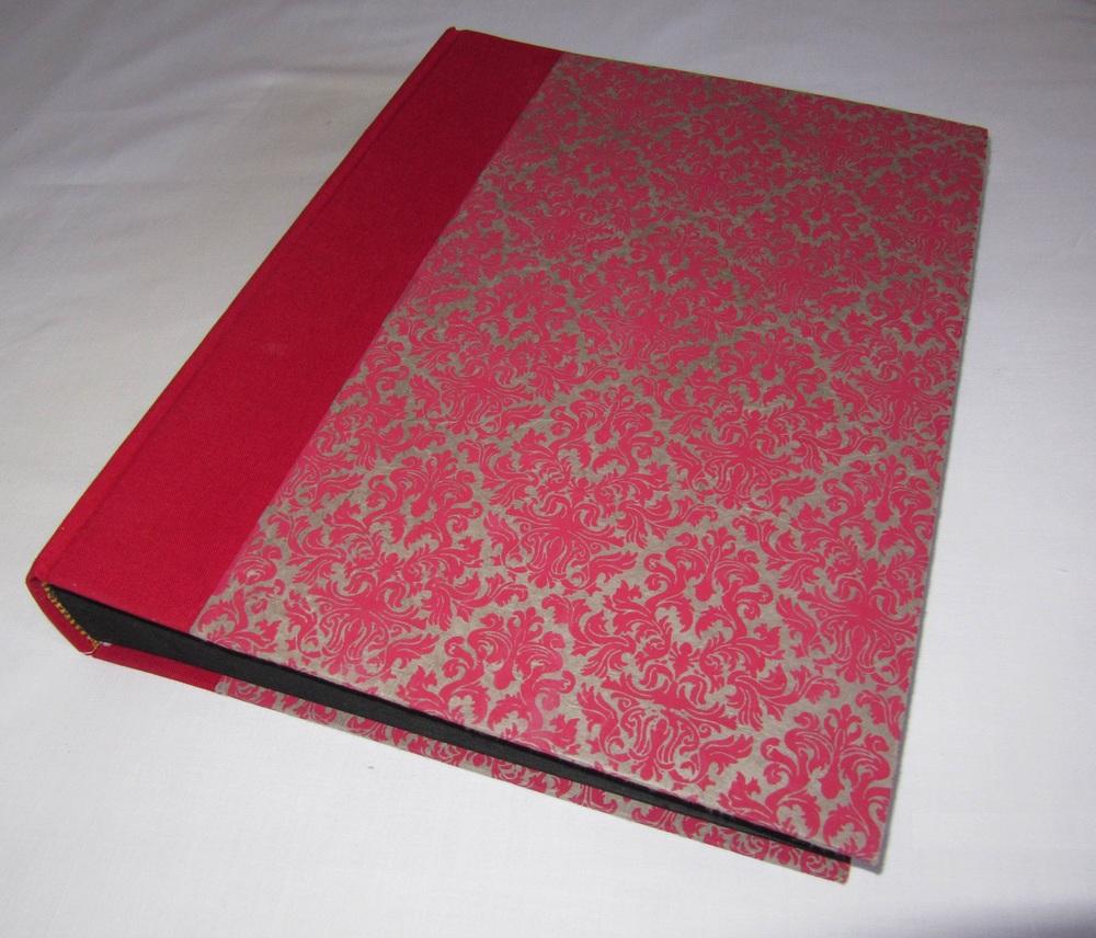 Álbum de fotos encuadernación artesanal