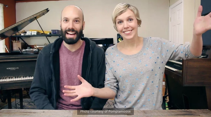 MTSU SIDELINES -  Music duo and YouTube stars Pomplamoose will visit MTSU for a Q-and-A session in the Wright Music Building on Thursday afternoon.