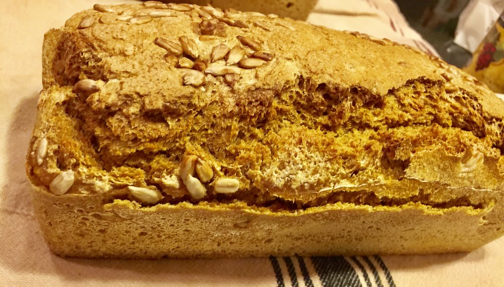 Sourdough Sprouted Spelt bread