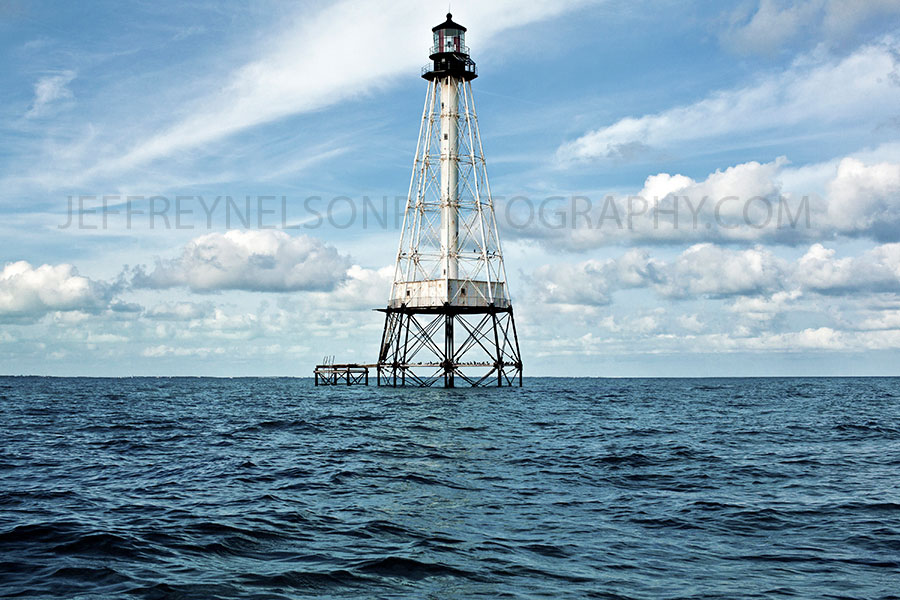 Florida Keys, light house, sharks, jeffrey nelson landscape photographer, national parks, key west