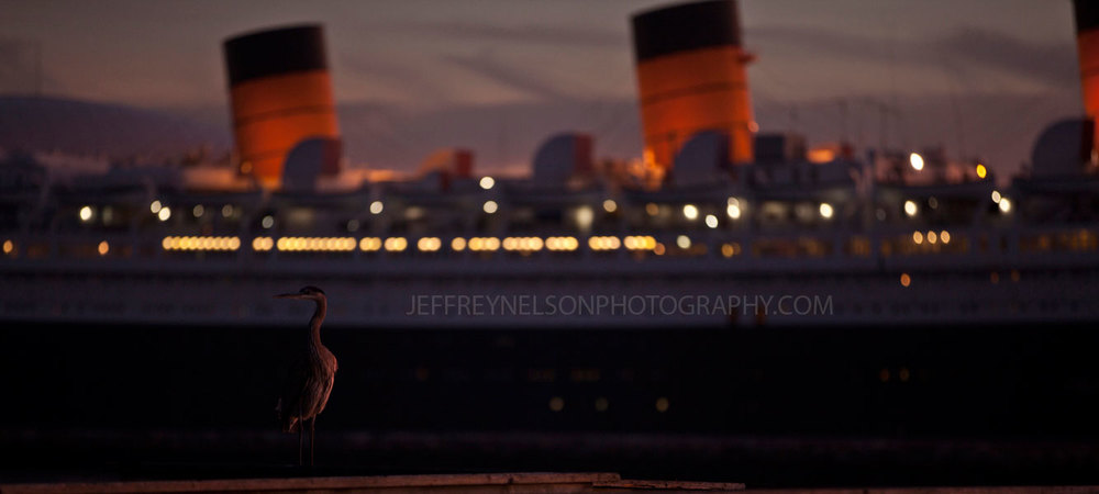 long beach, ladwp, jeffrey nelson photography, landscape, skyline, queen mary