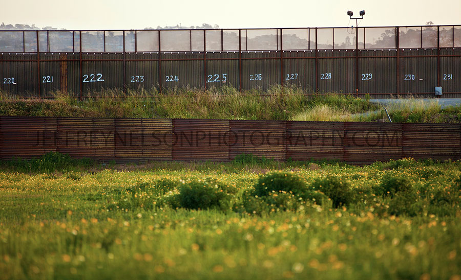 mexican border, border wars, jeffrey nelson photography, landscape