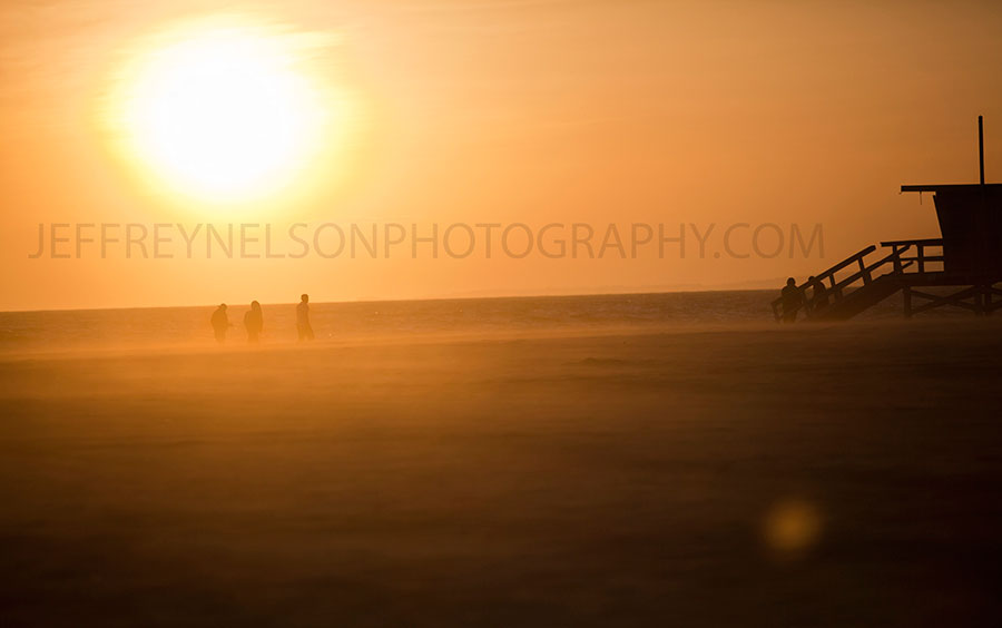 long beach, sunset, venice beach, jeffrey nelson photography, landscapes