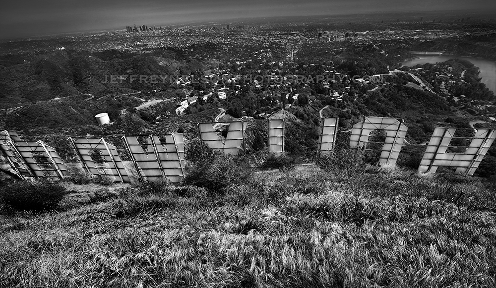 Hollywood sign, jeffrey nelson photography, landscape photographer