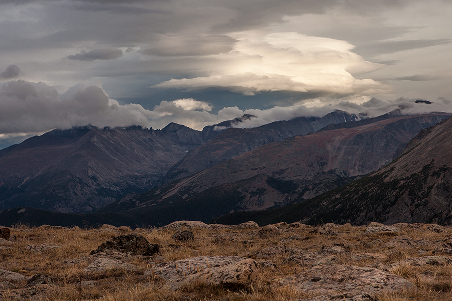 rocky mountains, landscapes, clouds, estes park, landscape photographer
