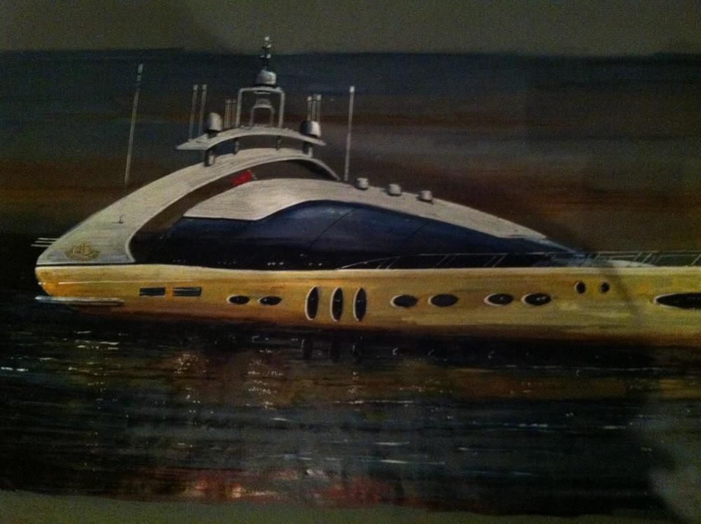 "Mega Yacht ""Lady Ivette"""