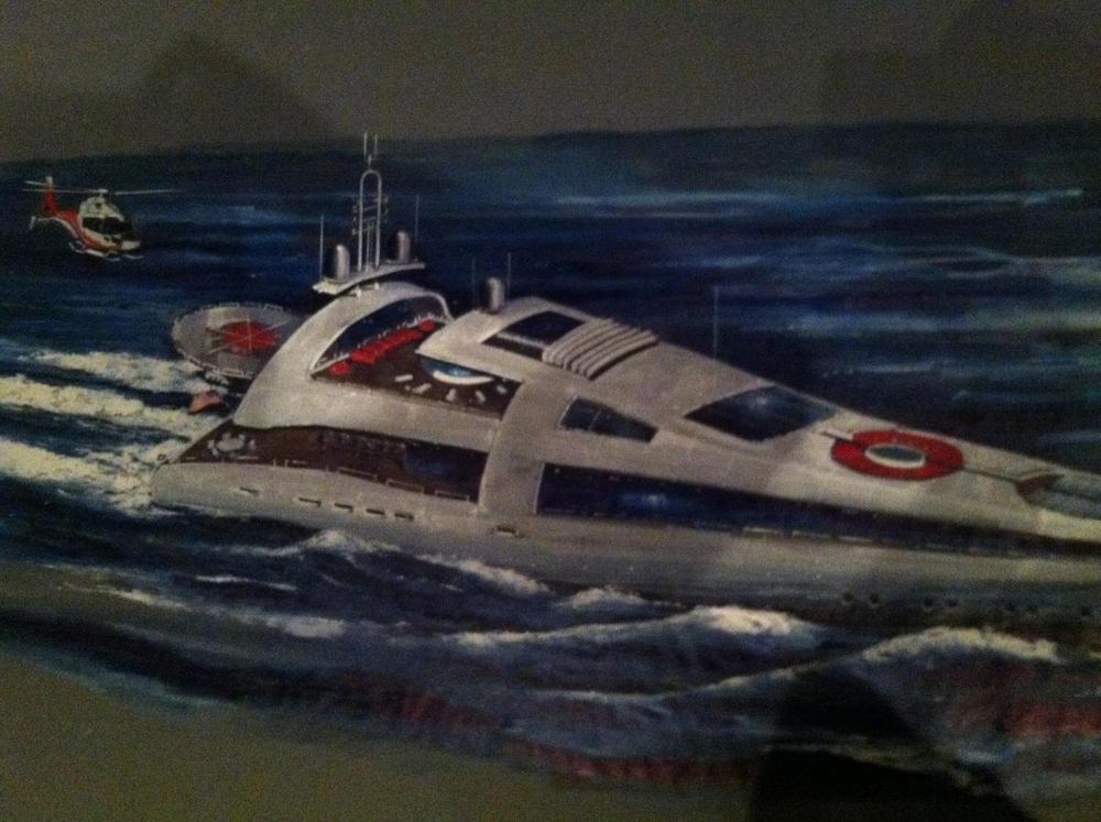 """Mega Yacht """"Georgina"""""""