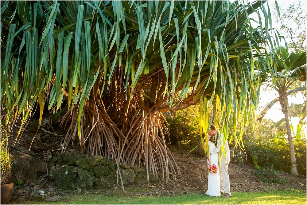 Maui Wedding Photography at Kukahiko Estate