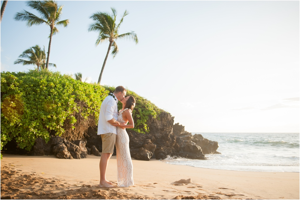 Maui Beach Wedding by Naomi Levit Photography