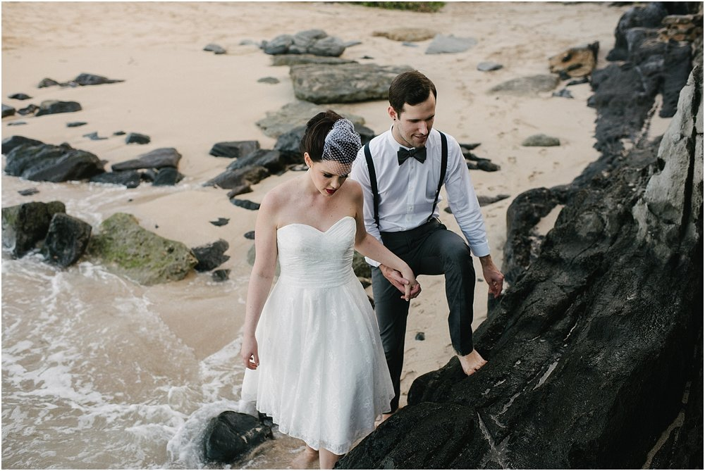 Maui elopement photographer in Kapalua Hawaii
