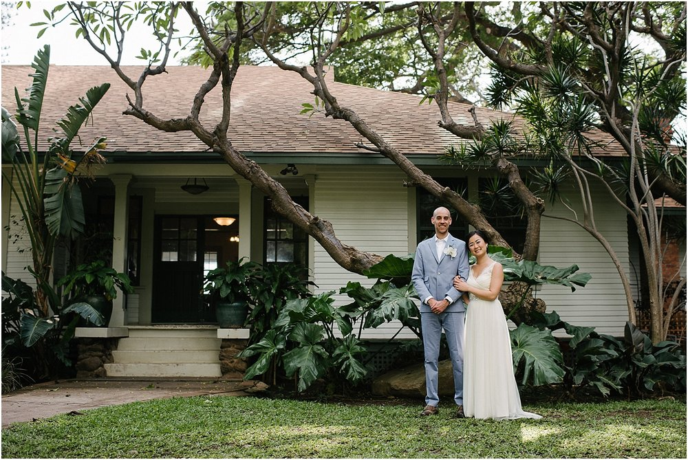 Maui Destination Wedding at Olowalu Plantation House in Lahaina, Hawaii